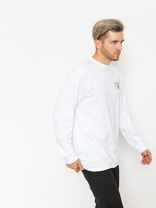 Longsleeve Vans Full Patch Back (white/port royale)