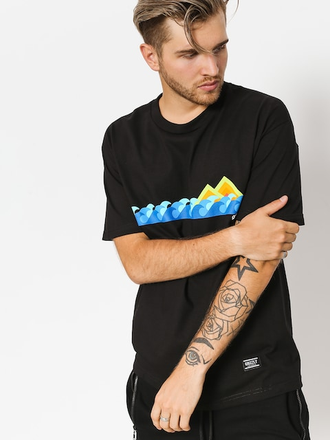 T-shirt Grizzly Griptape High Tide (black)
