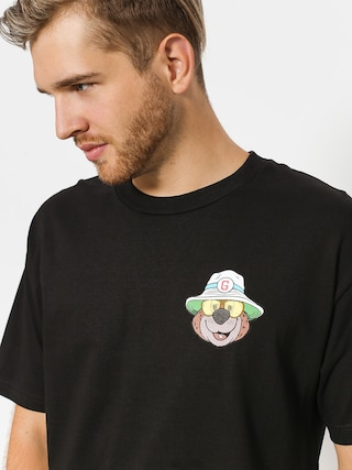 T-shirt Grizzly Griptape Bear & Loathing (black)
