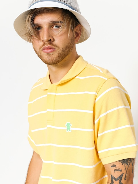 Polo Grizzly Griptape Fairway Striped (yellow)