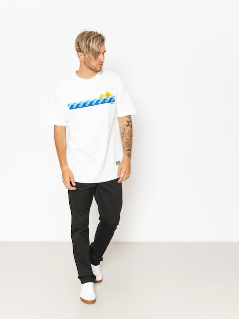 T-shirt Grizzly Griptape High Tide (white)