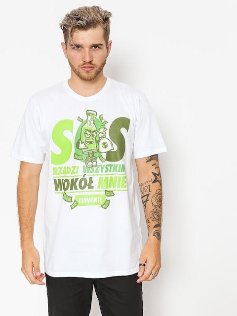 T-shirt Diamante Wear SOS (white)
