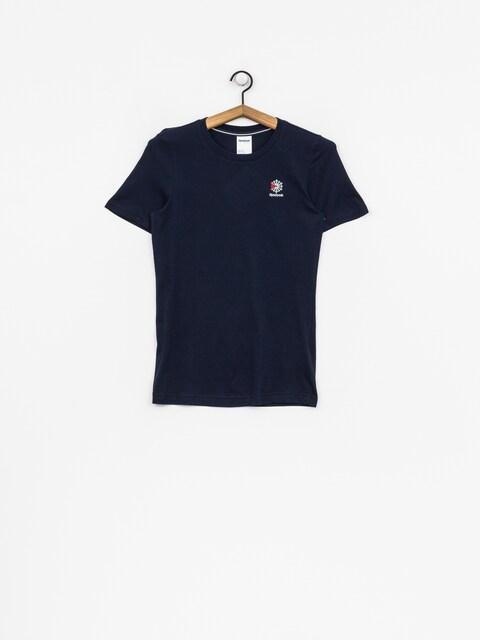 T-shirt Reebok Ac Wmn (collegiate navy)