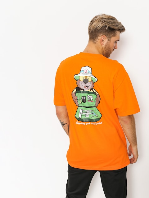 T-shirt Grizzly Griptape Bear & Loathing