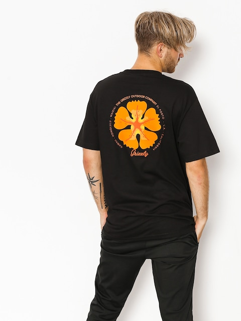 T-shirt Grizzly Griptape Coastal Clique (black)