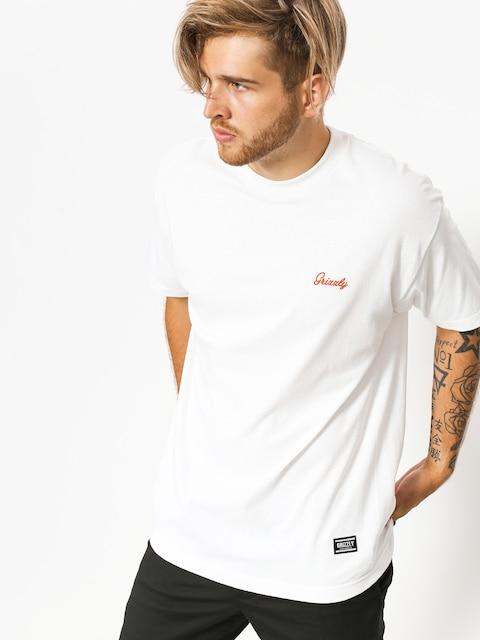 T-shirt Grizzly Griptape Coastal Clique (white)