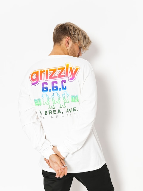 Longsleeve Grizzly Griptape All Stars (white)