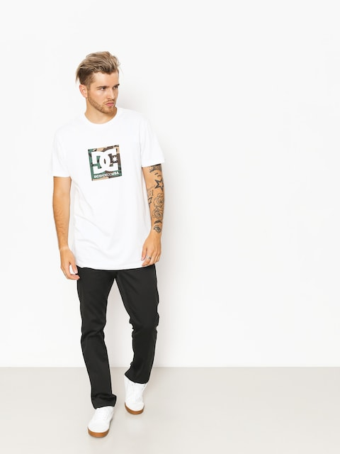 T-shirt DC Camo Boxing (snow white)