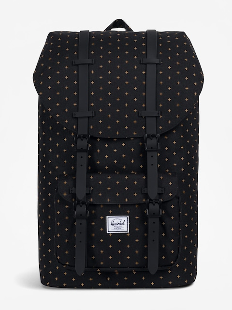 Plecak Herschel Supply Co. Little America (black gridlock gold)