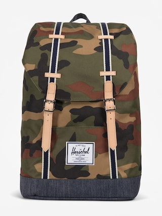 Plecak Herschel Supply Co. Retreat (woodland camo/dark denim)