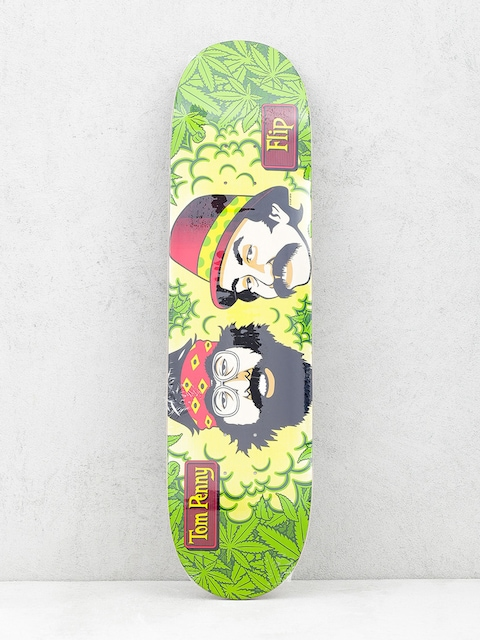 Deck Flip Cheech And Chong (green/yellow)