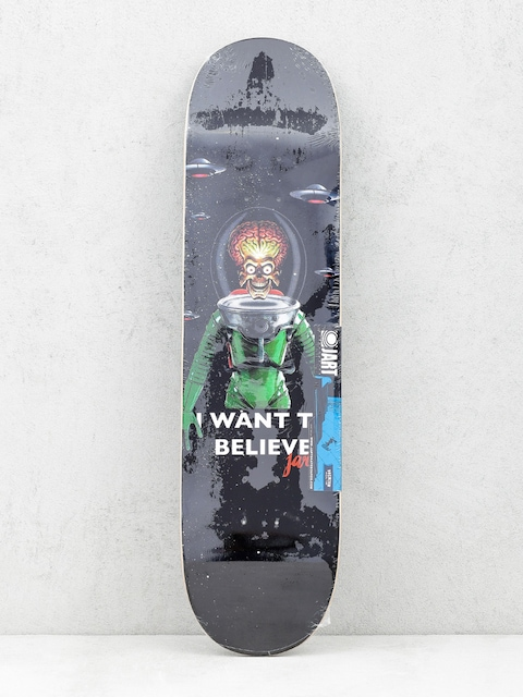 Deck Jart I Want To Believe (black)