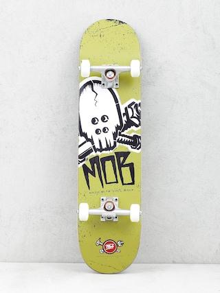 Deskorolka Mob Skateboards Skull Stencil (olive green)