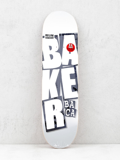 Deck Baker Stacked Name (grey)