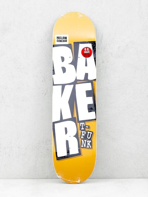 Deck Baker Stacked Name (camel)