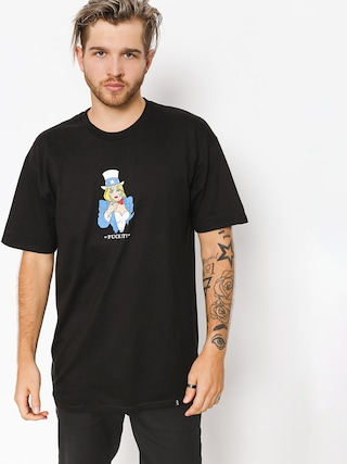 T-shirt HUF Miss America Tu (black)
