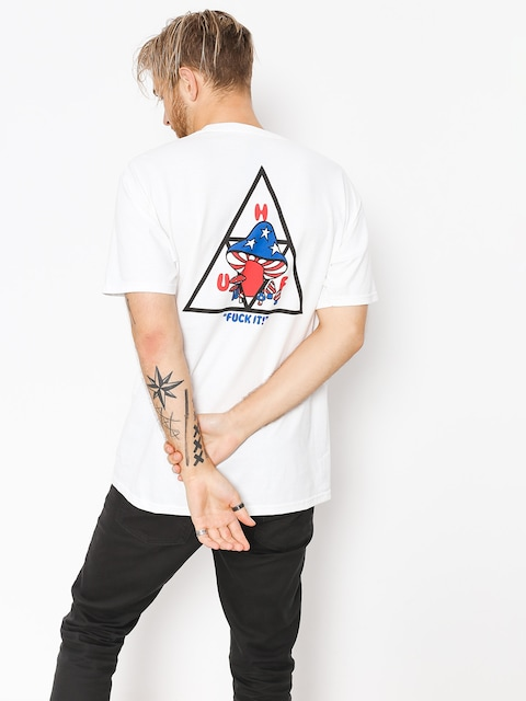 T-shirt HUF Triple Triangle Shroom (white)