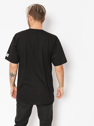 T-shirt HUF Fuck It Flag (black)