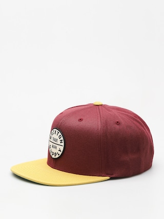 Czapka z daszkiem Brixton Wheeler Snap (light heather grey/navy)