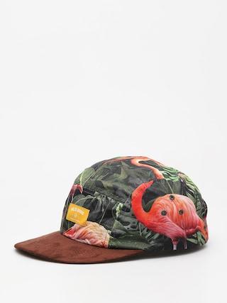 Czapka z daszkiem Malita Flamingo ZD (yellow brand)