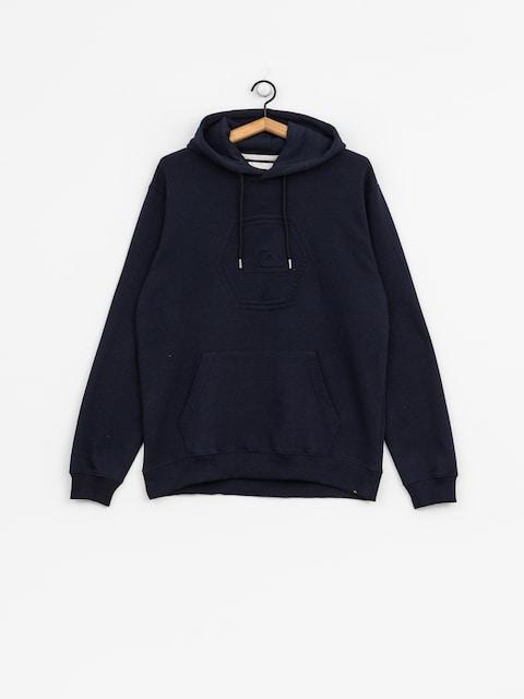 Bluza z kapturem Quiksilver Swell Emboss HD (navy blazer)