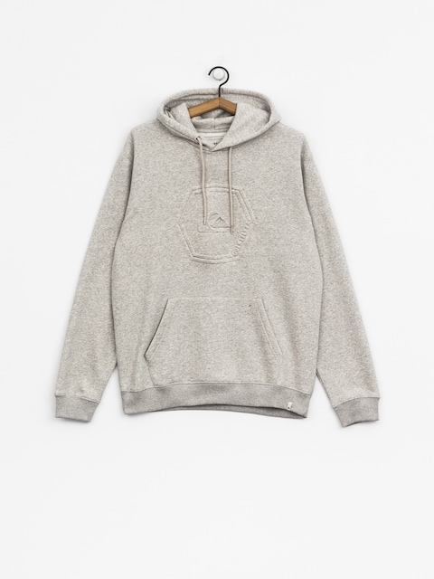 Bluza z kapturem Quiksilver Swell Emboss HD (light grey heather)