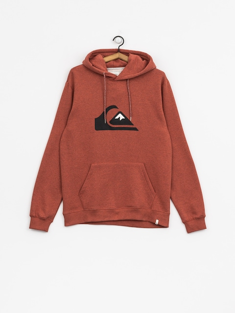 Bluza z kapturem Quiksilver Big Logo HD (barn red heather)