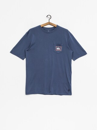 T-shirt Quiksilver Original Check Pt (bijou blue)