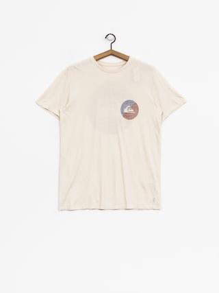 T-shirt Quiksilver Shook Up (oatmeal)