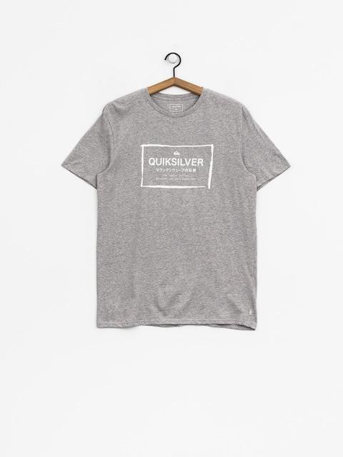 T-shirt Quiksilver Quik In The Box (sleet heather)