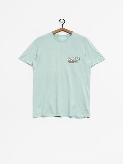 T-shirt Quiksilver Hot Sake (blue haze)