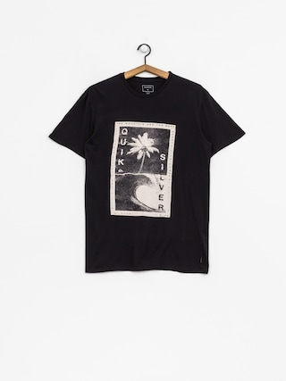 T-shirt Quiksilver Destroyed Reali (black)