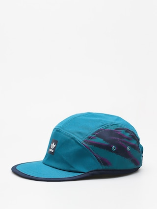 Czapka z daszkiem adidas Court 5 Panel ZD (real teal s18)