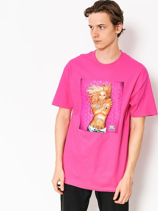 T-shirt DGK Queen B (hot pink)