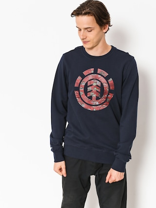 Bluza Element Logo Fill Crew (eclipse navy)