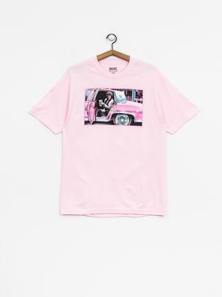 T-shirt DGK Dont Spill My Yak (pink)