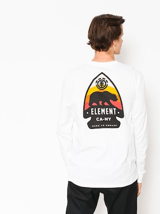 Longsleeve Element Arrow (optic white)