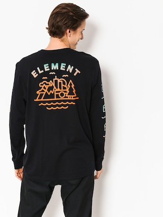 Longsleeve Element Lens (flint black)