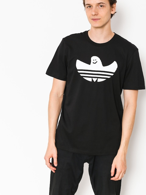 T-shirt adidas Solid Shmoo (black/white)