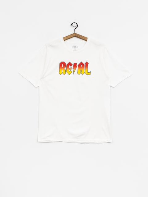 T-shirt Real Deeds Hwy 2 Hel (white/red)