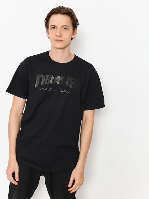 T-shirt Thrasher Magazine Logo (black)