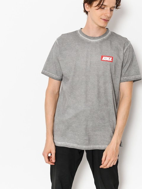 T-shirt Koka Mini Boxlogo Prew (dark grey)