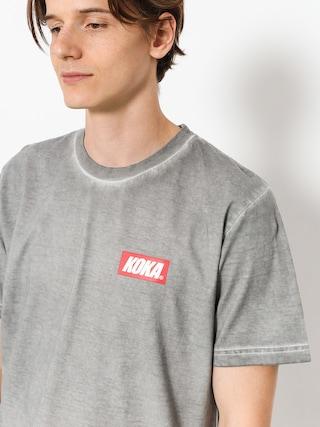 T-shirt Koka Mini Boxlogo Prew (dark grey)