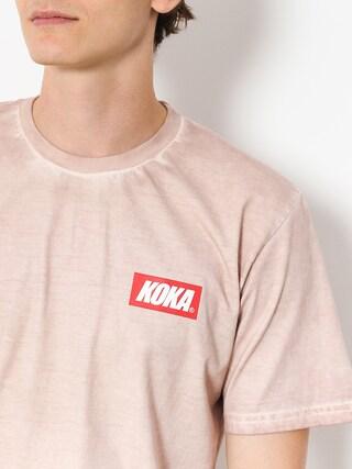 T-shirt Koka Mini Boxlogo Prew (pink)