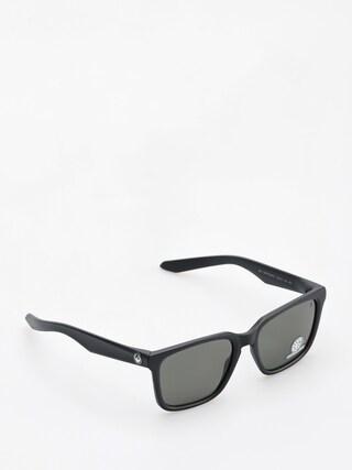 Okulary przeciwsu0142oneczne Dragon Baile (matte black/smoke performance polar)