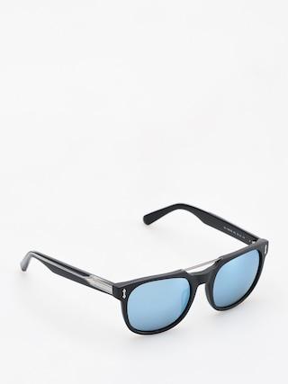 Okulary przeciwsu0142oneczne Dragon Mix (matte black/blue)