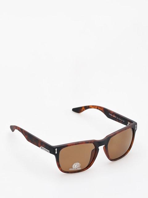 Okulary przeciwsłoneczne Dragon Monarch (matte tortoise/bronze performance polar)