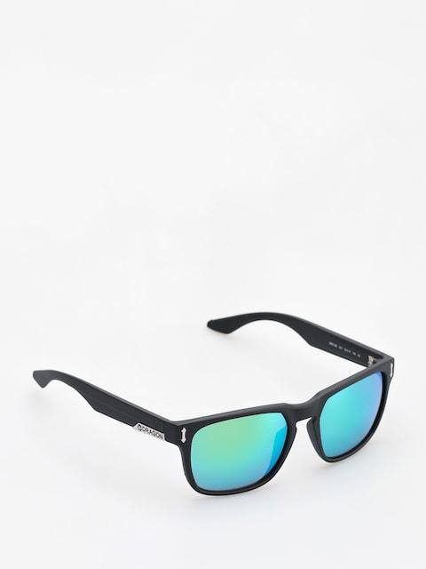 Okulary przeciwsłoneczne Dragon Monarch (matte black/green ion)