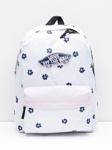 Plecak Vans Realm Wmn (white abstract daisy)