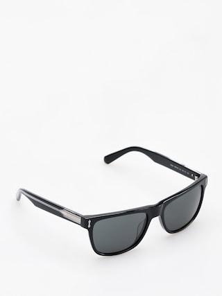 Okulary przeciwsu0142oneczne Dragon Brake (shiny black/smoke)